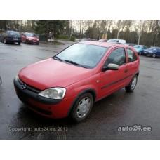 Opel Corsa 1.7 (10.2000 - 05.2005)
